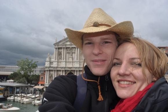Francois & Catherine in Venice