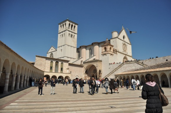 Basilica St. Franceso, Assisi, Italy