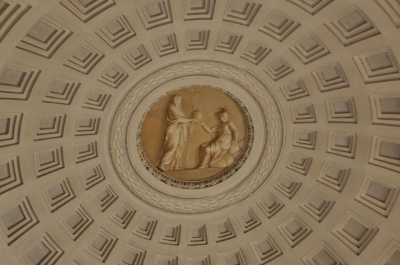 Roof detail in the Vatican
