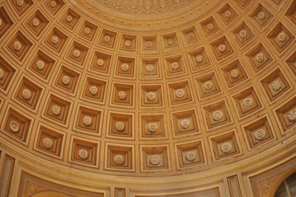 Ceiling with detailing from Vatican City