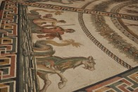 Floor mosaic in the Vatican
