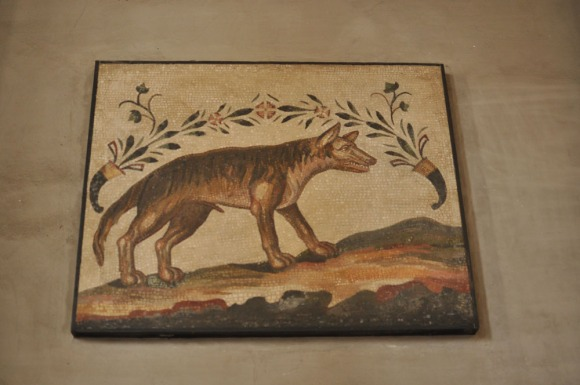 Mosaic of the wolf of Rome, Vatican City