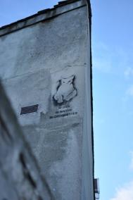 Graffiti in Montmartre, Paris