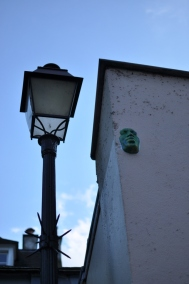 Watchful faces in Montmartre, Paris