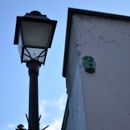 Watchful faces in Montmartre, Paris