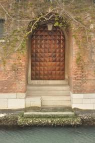 Waterway entrance in Venice
