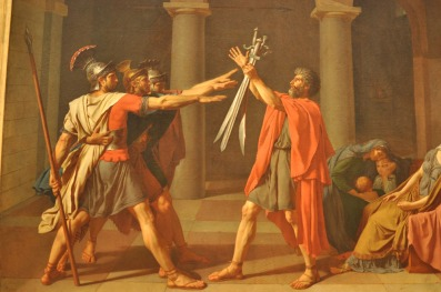 Oath of the Horatii (1784), Jacques-Louis David