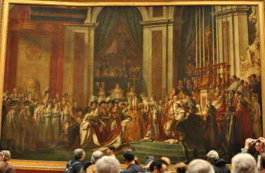 Panorama of The Consecration of the Emperor Napoleon and the Coronation of Empress Joséphine on December 2, 1804 (1806-07), Jacques-Louis David
