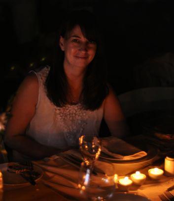Andrea Vermaak at Diner en Blanc Johannesburg