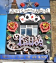A tattoo parlour in Camden town