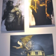 Concept art - group of various paintings