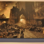 Concept art - the aftermath of the Battle of Hogwarts
