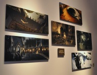 Concept art - various pieces by Andrew Williamson