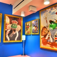M and Ms in London - classic art