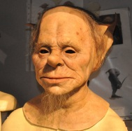 Props and makeup - Goblin close-up