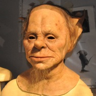 Props and makeup - Goblin close-up