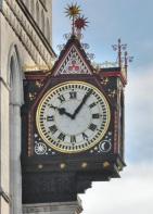 Royal Courts of Justice detail - clock