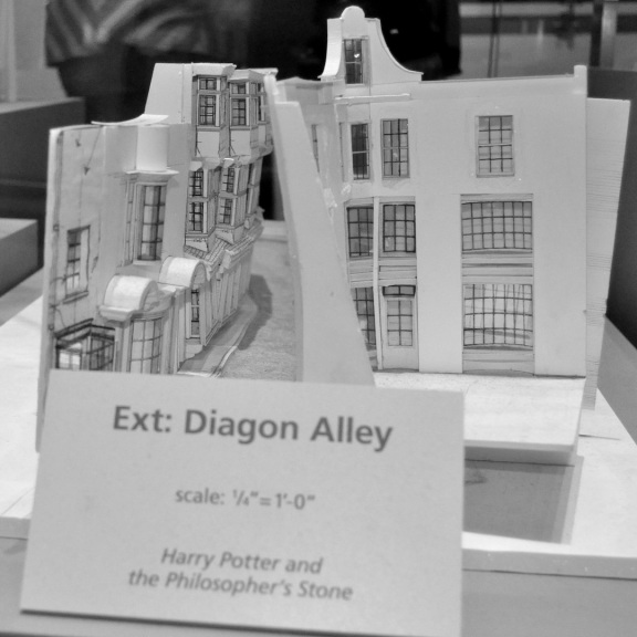 Scale models - Diagon alley