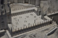 Scale models - Hogwarts courtyard