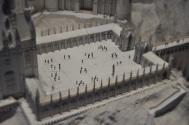 Scale models - Hogwarts courtyard