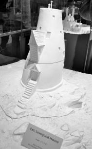 Scale models - Lovegood house