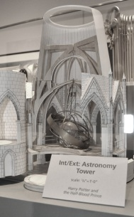 Scale models - the astronomy tower