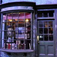 Set detail - Flourish & Blotts in Diagon alley