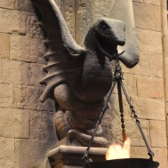 Set detail - Slytherin in the Great Hall