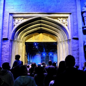 Set - entrance to the Great Hall