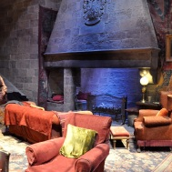 Sets - Gryffindor common room with costume for Ron